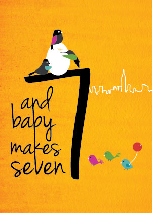 and baby makes seven