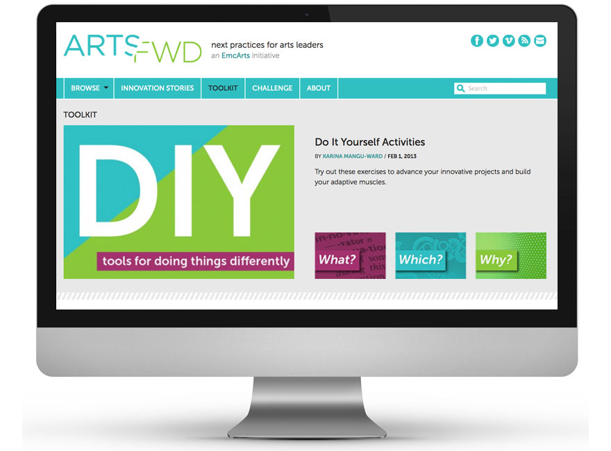 ArtsFwd.org Toolkit Page